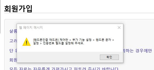 회원가입시_웹 페이지 메시지.jpg